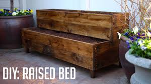 Garden Box Ideas Diy Raised Bed Patio Planter