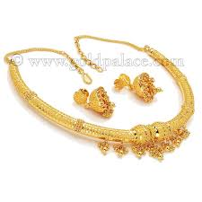 gold necklace earrings set images Gold sets necklace and earrings 22 k jpg