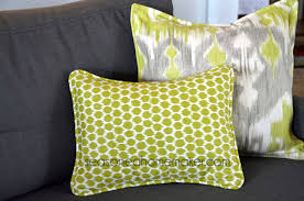 Upholstery Cording Instructions How To Add Piping To A Pillow