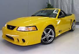 mustang 2000 saleen speedlab yellow 2000 saleen s281 sc ford mustang convertible