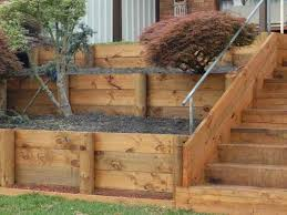 Walls Alpine Landscaping  Best Landscape Images On Pinterest - Timber retaining wall design