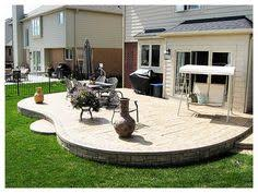 Stamped Concrete Patio Designs Pictures by Stamped Concrete Patio Landscaping Pinterest Concrete Patios