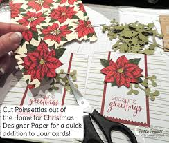 christmas card kit from paper pumpkin patty u0027s stamping spot