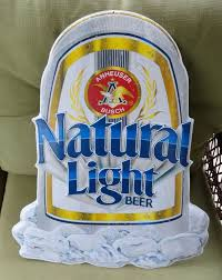how much alcohol is in natural light beer anheuser busch natural light beer metal sign 442 200 designed 1990