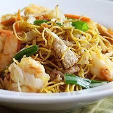 cuisiner des pates chinoises nouilles chinoises aux crevettes et au porc recette nouilles