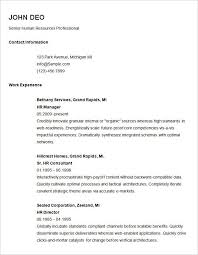 free simple resume templates image gallery of cosy example of a