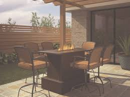 High Table Patio Furniture Trying Bar Height Patio Table And Chairs At Home