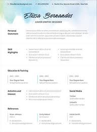 different resume templates the 17 best resume templates