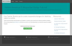 bootstrap design bootstrap tutorial a responsive design tutorial with