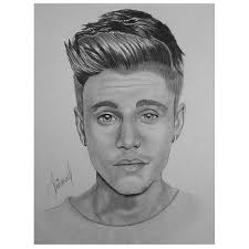 new drawing by justin bieber on we heart it