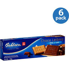 bahlsen choco leibniz milk chocolate covered biscuits 4 4 oz