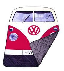 volkswagen hippie van clipart vw red picnic rug