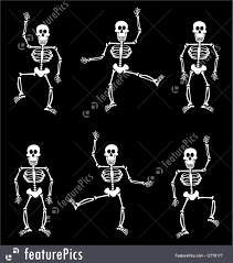 halloween black and white background halloween skeleton pattern black background