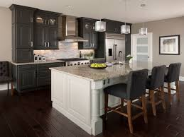 Two Different Colored Cabinets In Kitchen Two Different Color Kitchen Counters Fancy Home Design