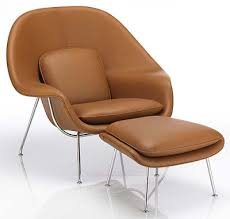 womb chair medium or regular and in leather