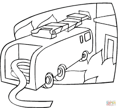 fire truck is ready coloring page free printable coloring pages