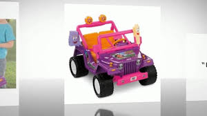 power wheels jeep barbie power wheels dora the explorer jeep wrangler youtube