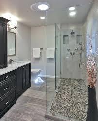 flooring for bathroom ideas pebble floor bathroomchalk pebble effect bathroom flooring pebble