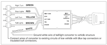 4 pin trailer light wiring diagram fharates info