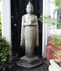 large garden sculptures upright buddha statue s s shop
