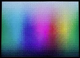 color spectrum puzzle a 1 000 piece cmyk color gamut jigsaw puzzle by clemens habicht