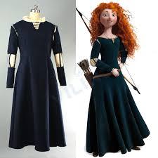 Merida Halloween Costume Cheap Brave Princess Costume Aliexpress Alibaba