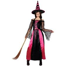 Witch Halloween Costumes Mystical Spellbound Witches Halloween Fancy Dress Ladies Witch