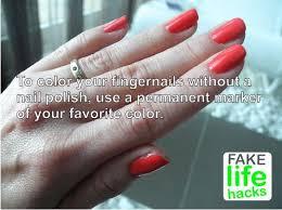funny nail polish