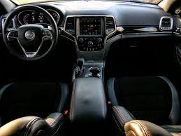 Grand Cherokee Interior Colors The Jeep Grand Cherokee Trailhawk Offers Off Roading Fit For Royalty