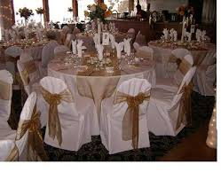 gold chair sashes chair cover pictures
