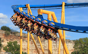 The Goliath Six Flags Six Flags Fiesta Texas
