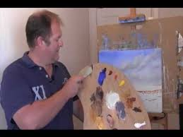 oil painting lesson with rod moore part 6 sand u0026 beach youtube