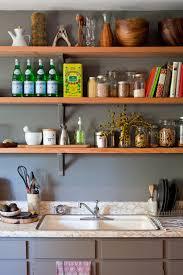 kitchenshelves com open kitchen shelves transitional kitchen