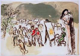 marc chagall and the village