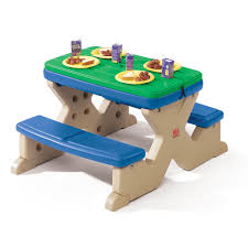 recycled american plastic toys picnic table bench for toddlers