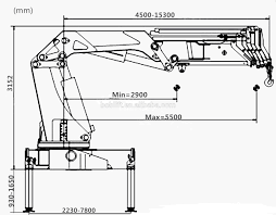 brand new knuckle boom truck mounted crane with price list buy