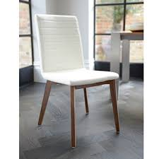 dining room leather chairs best choice of parquet dining chair faux leather cream dwell in