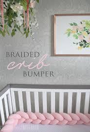 the perfect braided crib bumper from juju u0026 jake nursery decor