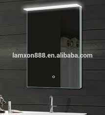 Acrylic Bathroom Mirror New Design Flat Bathroom Mirror With Led Acrylic Backlit Light And