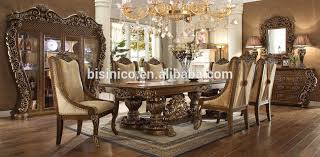 Cream Colored Dining Room Furniture by Pure American Classic Luxury Full Solid Wood Cream Color Palace