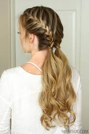 quick hairstyles for long hair at home emejing easy quick hairstyles for long hair photos styles ideas