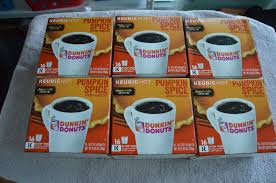 Pumpkin Spice Dunkin Donuts 2017 by Upc 881334006957 Pumpkin Spice K Cups Coffee Pods 16ct Dunkin