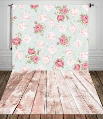 Wedding Backdrop Outlet Only 25 00 Fabric Vinyl Printed Photography Background Floral