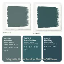 magnolia home paint vs sherwin williams just used sherwin