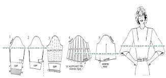 drafting the push up sleeve pattern