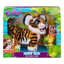Tiger Awnings by Furreal Roarin U0027 Tyler The Playful Tiger Bj U0027s Wholesale Club