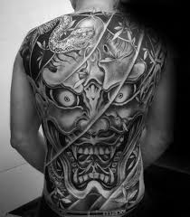 50 japanese demon tattoo designs for men oni ink ideas