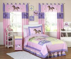 pink and purple bedding sets pony horse for girls fullqueen