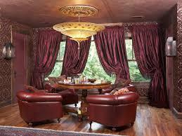 Burgundy Dining Room Burgundy Curtains For Living Room 4854