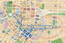 Map Of Atlanta Airport Atlanta Georgia Sightseeing Attractions Map Architecture Of The